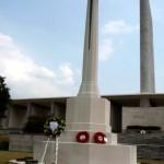 Kranji War Memorial and RAFCA Wreath