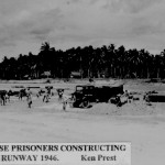 * Japanese Prisoners Constructing the Runway, 1946.