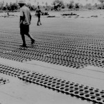 * Japanese Prisoners Constructing the Runway.