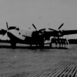 * Avro York. The First Aircraft to Land on the New Runway