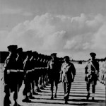 * Field Marshall Montgomery Inspecting the Guard of Honour.