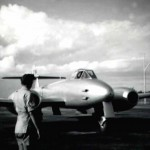 * Gloster Meteor, the First Jet to Visit Changi in 1947.
