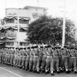 Royal Air Force March Past, Coronation Parade, Padang, 1953.
