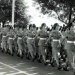 WAAF March Past, Coronation Parade, Padang, 1953.