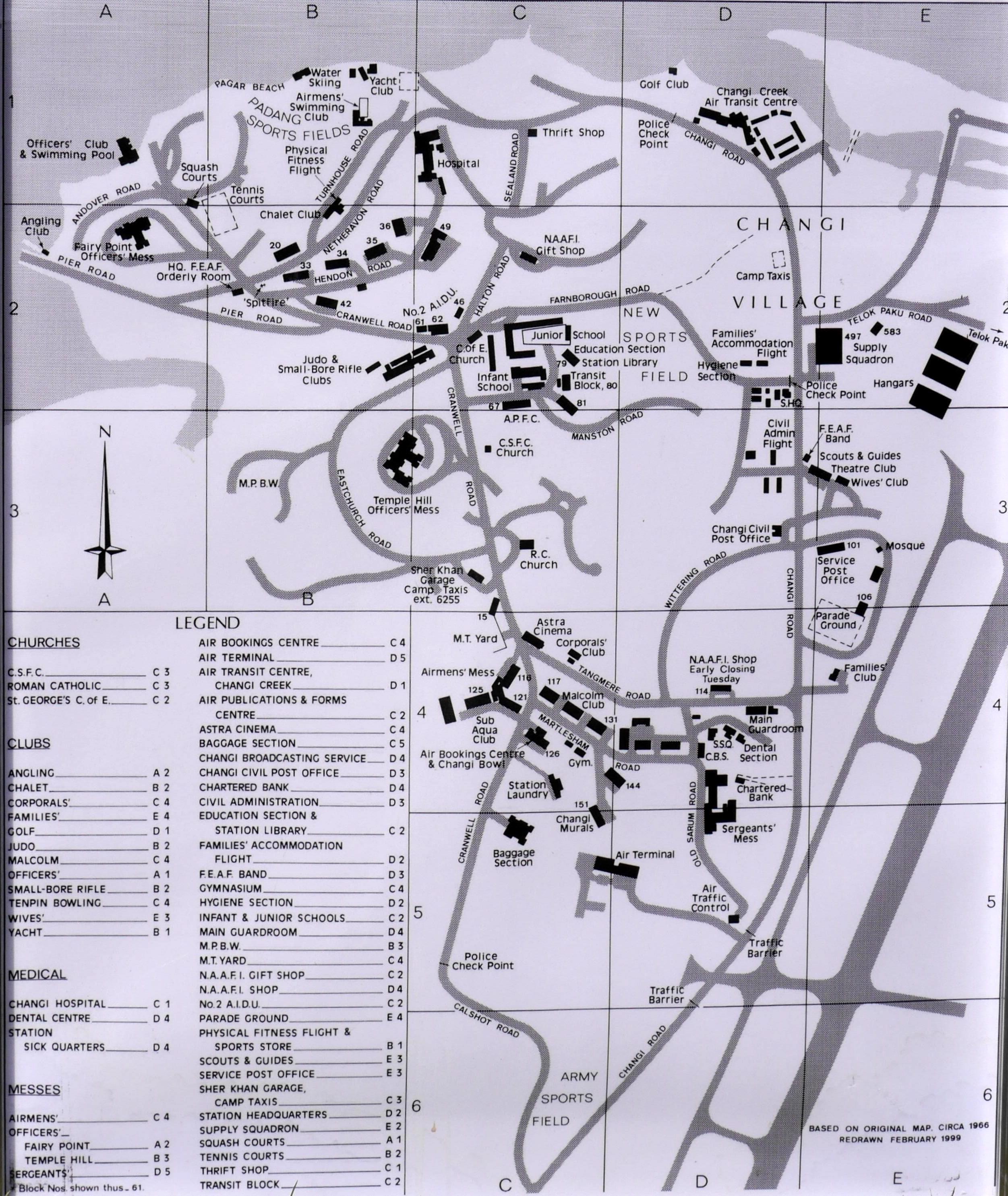 Changi Map