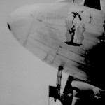 * Nose of Dakota Aircraft,   September 1946.