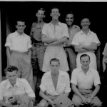 * Group of Airmen Including Jim Noble, 1947.