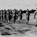 * AOC's Parade 1946, Lead by Wing Commander Gordon Finlayson.