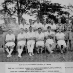 * Base Accounts Office Cricket Team, 1946.