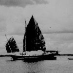 * Chinese Junk Under Sail.