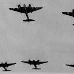 * Flypast for Battle of Britain Parade Before Air Marshall Sir George Pirie.