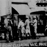 * Japanese Prisoners of War Emptying WC Pails.