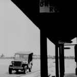 * Squadron Leader Higgins' Jeep Outside his Office.