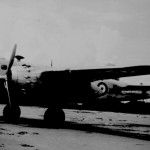 * Mitchell B27 Bomber, Empire Training Squadron Visits Changi in 1947.