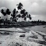 * The Beach at Kampong Ayer Gemurur, c1948.