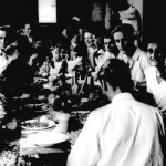 * Christmas Dinner Party, in the Airmen's Mess, 1948.