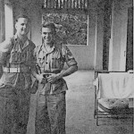 * Two   Airmen on Barrack Block Landing.