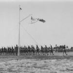 Review of Armed Forces by Air Chief Marshall Sir Hugh Pugh Lloyd,CinC FEAF