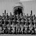 * Group of Unknown Personnel Taken in Front of Hastings Aircraft, 1949/50.