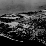 Aerial View of Changi Airstrip and Camp, 1952/3.