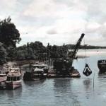 Changi Creek, c.1957-59.