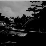 View of Somewhere on Changi Camp.1951/2.