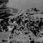 Aerial View of Camp but not Showing the Runway. 1951/2.