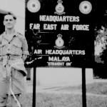Don Brebner Outside Headquarters F.E.A.F.