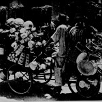 Travelling Salesman, Oriental Style, Changi Village,1953