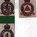 Three Squadron Badges.