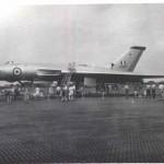 Vulcan Bomber, 26.9.1956. Crashed at London Heathrow on 1.10.1956