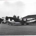 Royal Air Force Avro York, 1956.