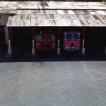 Domestic Fire Section Yard from Block 140 Middle Floor.