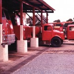 Domestic Fire Section Vehicles.