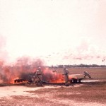 Sunday Morning Practice Crash, c.1957-58.