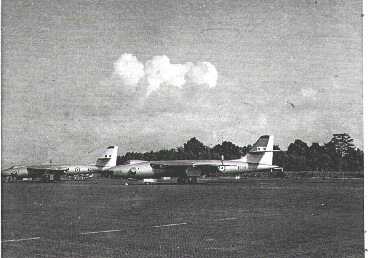 Vickers Valiants After their Visit to Vietnam