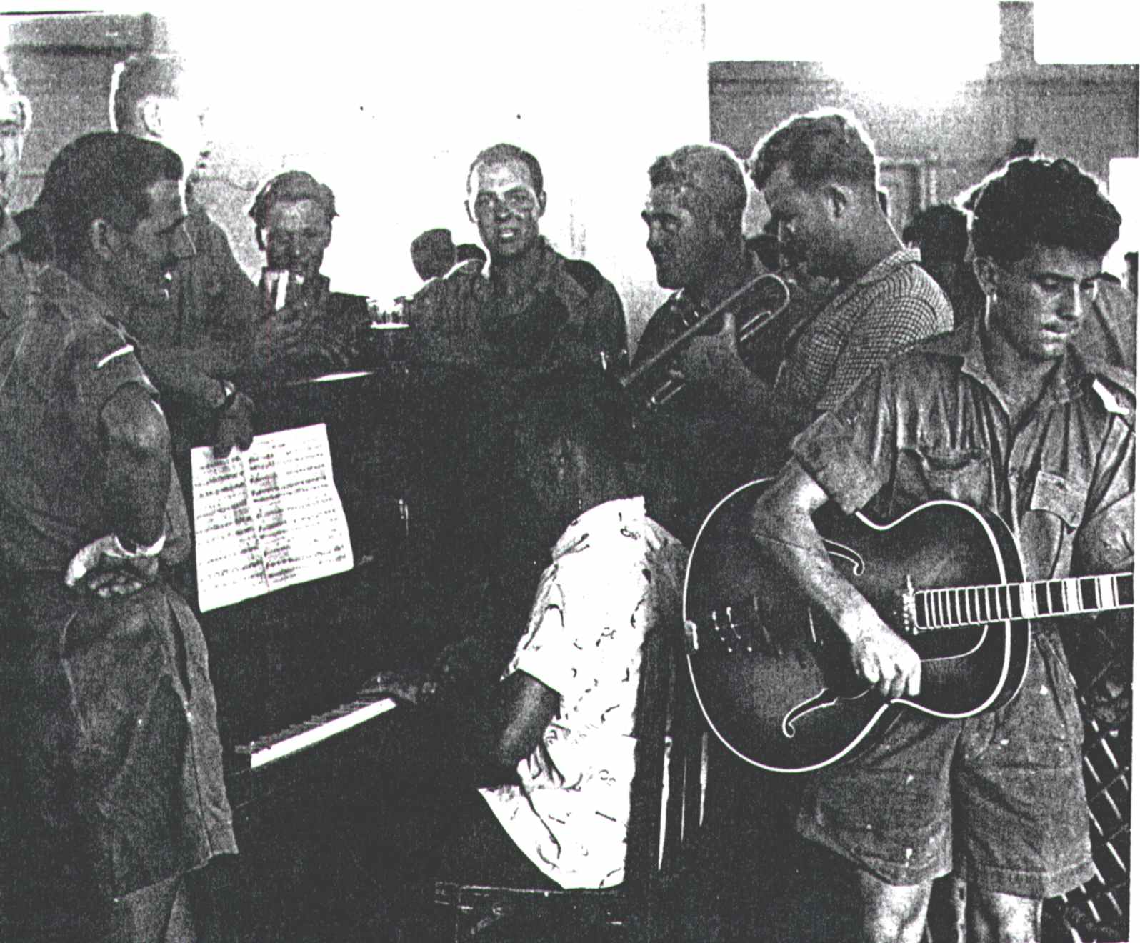 Group of Musicians – Possibly Practicing, 1957/9