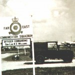 Sign Board for Far East Communication Squadron, 1959/62.