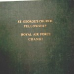 St. Georges Church Fellowship, Royal Air Force, Changi, Nameplate