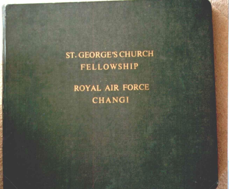 St. Georges Church Fellowship, Royal Air Force, Changi, Nameplate