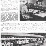Article and Pictures on Mechanical Transport Squadron Drivers.(Changi Infr.)