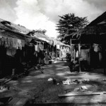 Back Street of Changi Village, 1954.