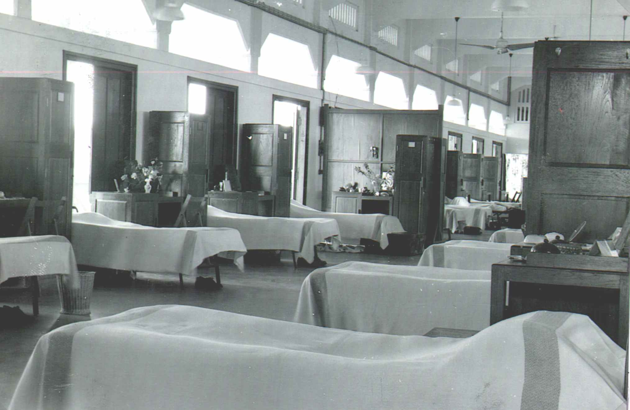 Top Floor Block 117, (WRAF Block) Ready for Inspection, 1952