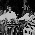 Johnny Gray, Mick O'Carroll, Alan Harman and Others at the Britannia Club.