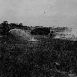 Airfield Crash Crew Fire Practice.