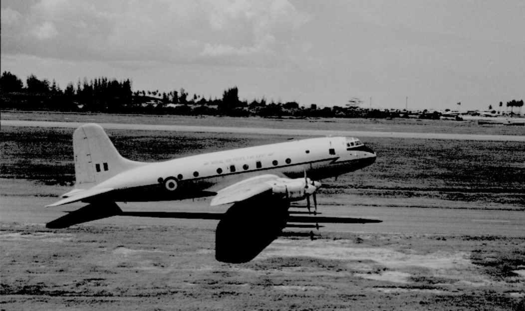 Far East Communications Squadron Hastings No. WJ333, 1963-66